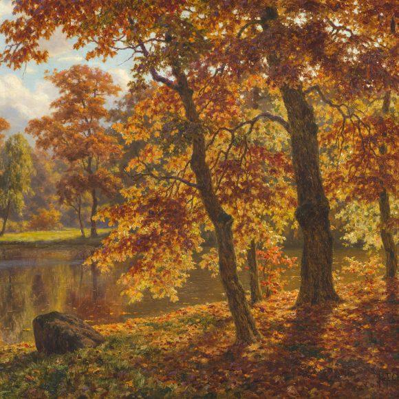 Шультце Иван Фёдорович, «Осень. Нескучное», 1923-1925 года