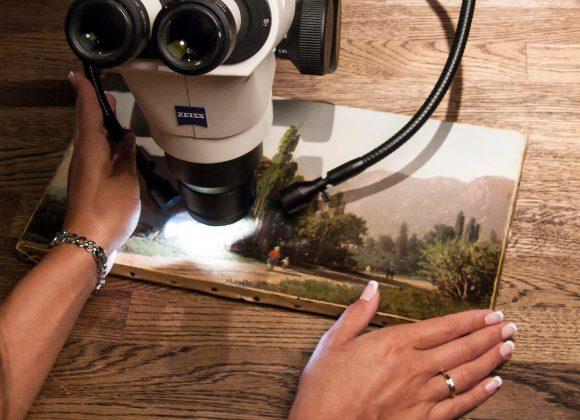 Искусство под микроскопом: основы теории и практики экспертизы живописи