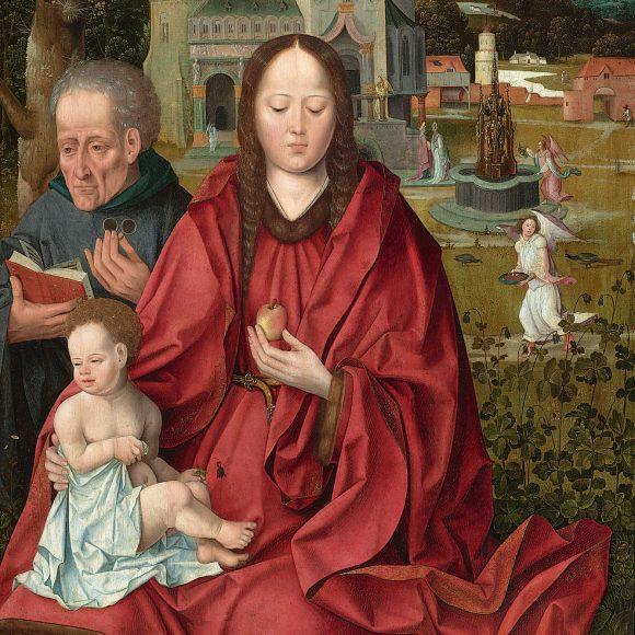 Мастер Святой Крови, «Святое семейство», 1510-е – 1520-е года