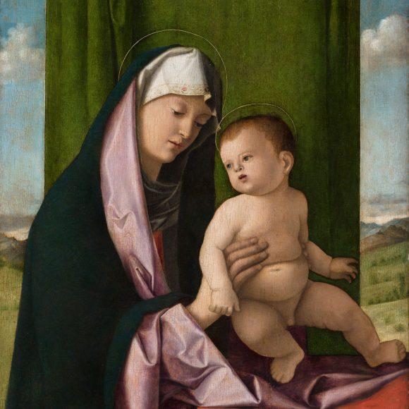 Джованни Беллини «Мадонна с младенцем» начало 1490-х годов