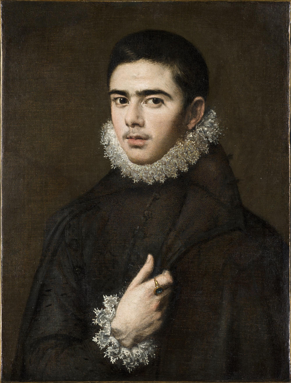 Эль Греко «Портрет молодого мужчины», 1577