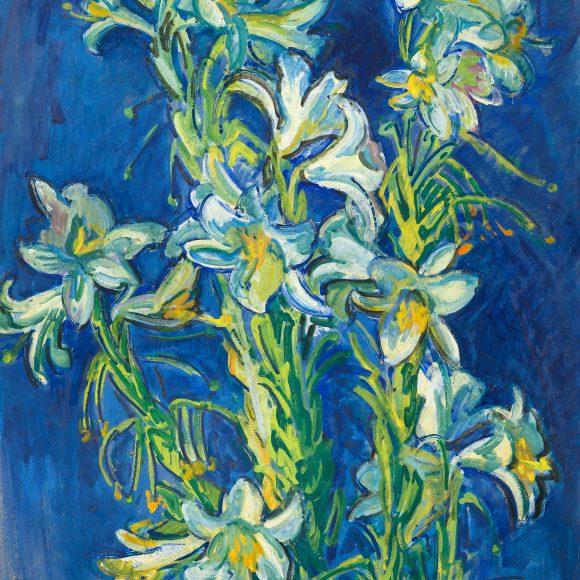 Тархов Николай Александрович «Белые лилии», 1910–1915