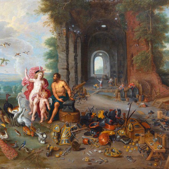 Ян Брейгель Младший, Абрахам Виллемсен, «Венера в кузнице Вулкана. Аллегория Воздуха и Огня», до 1630-х годов