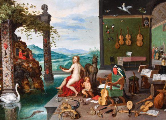 Старые Мастера: образ и символ
